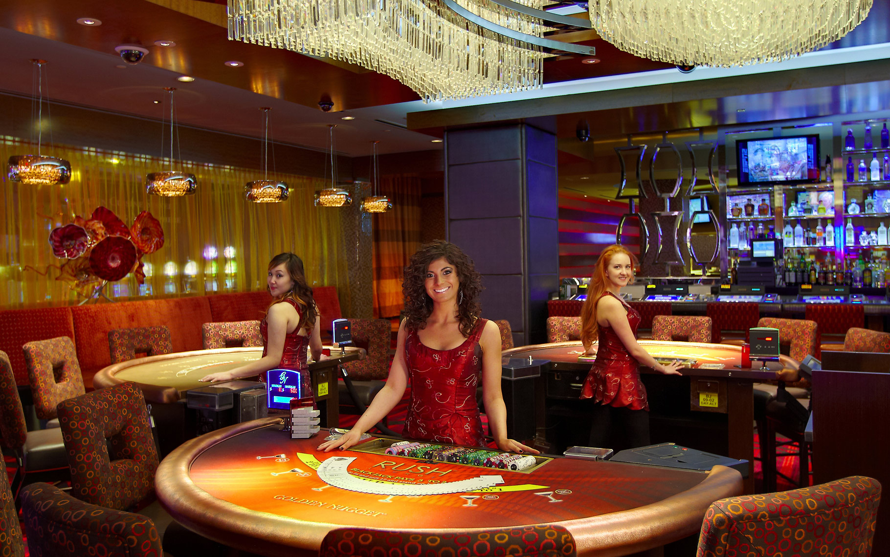 Casino interior lifestyle Photographer