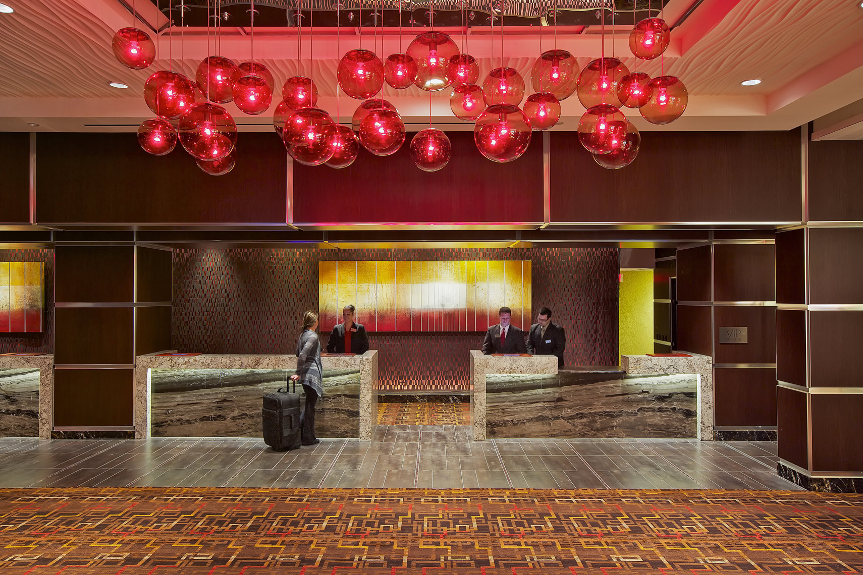 Interior Photography of Hotel Lobby