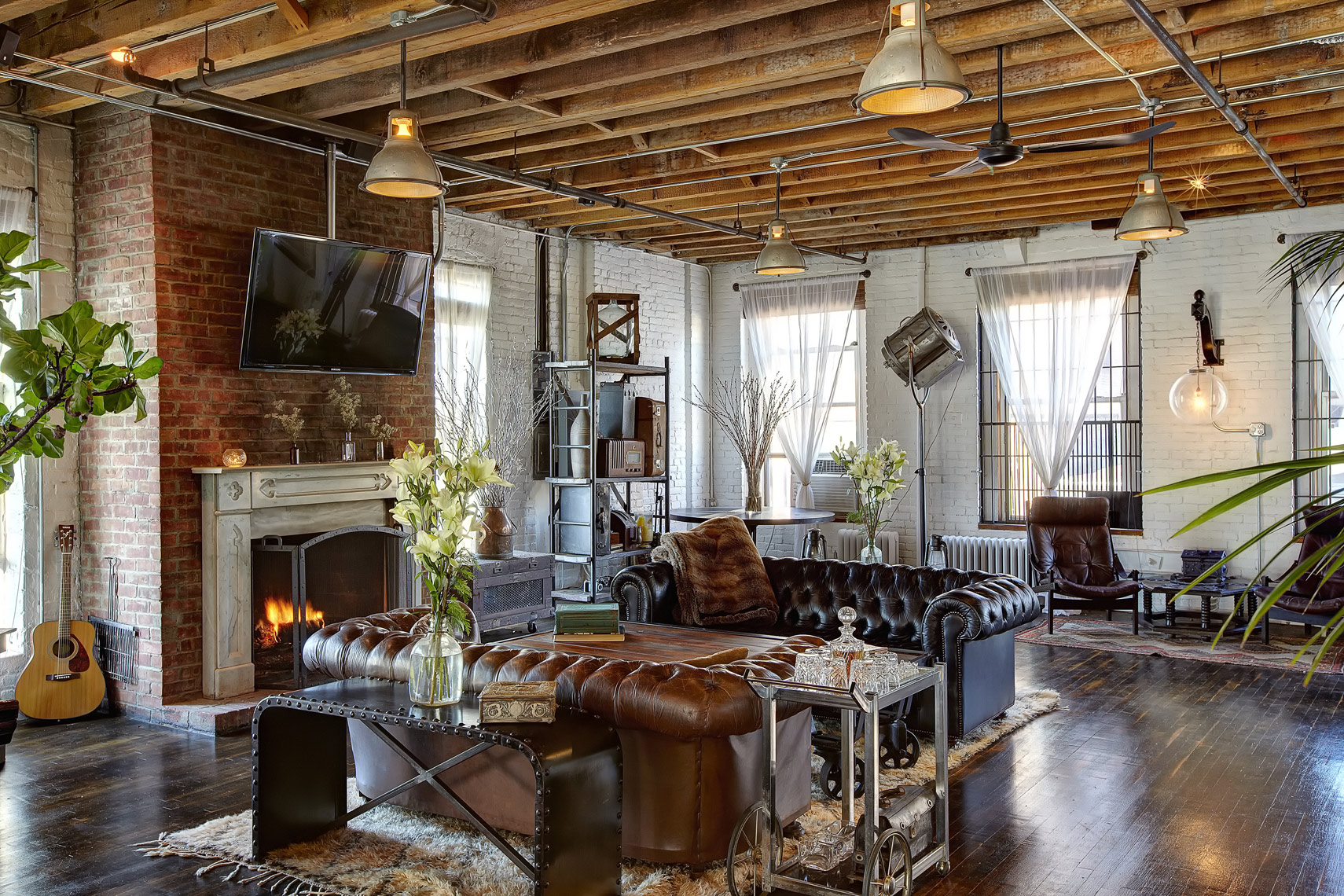 Amazing loft layout in the west village. Interior photographer.