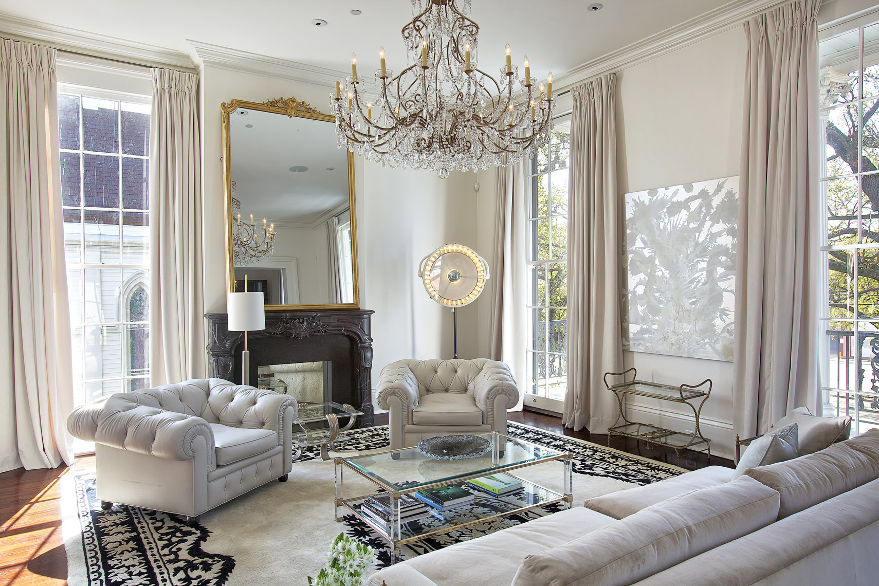 Traditional interior design NY photographer in new orleans. Interior design photographer